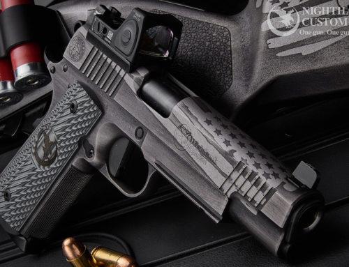 Pistol Cerakote Nighthawk Custom 1911