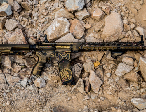 Battle Arms Development AR15 Bronze Cerakote Battle Worn