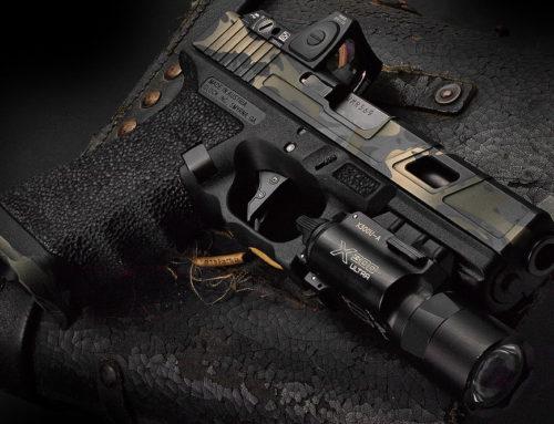 Glock Black Multicam Cerakote