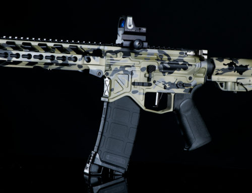 Light Green Multicam Cerakote Finish
