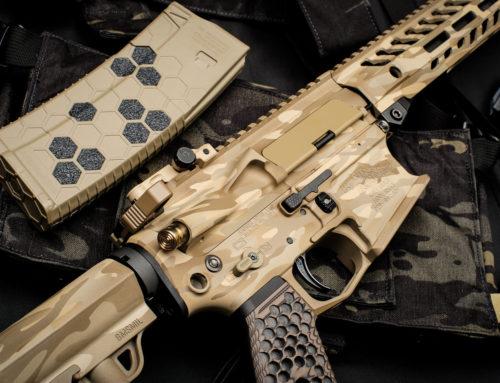 Rainier Arms FDE Camo Pattern Cerakote