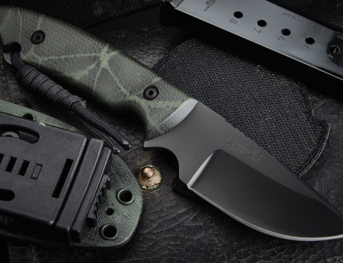 Nighthawk Knife Cerakote Green