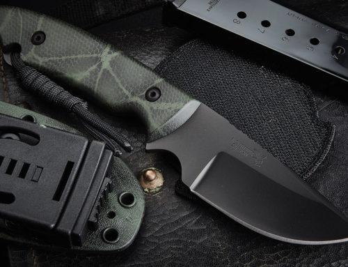 Nighthawk Knife Cerakote Green