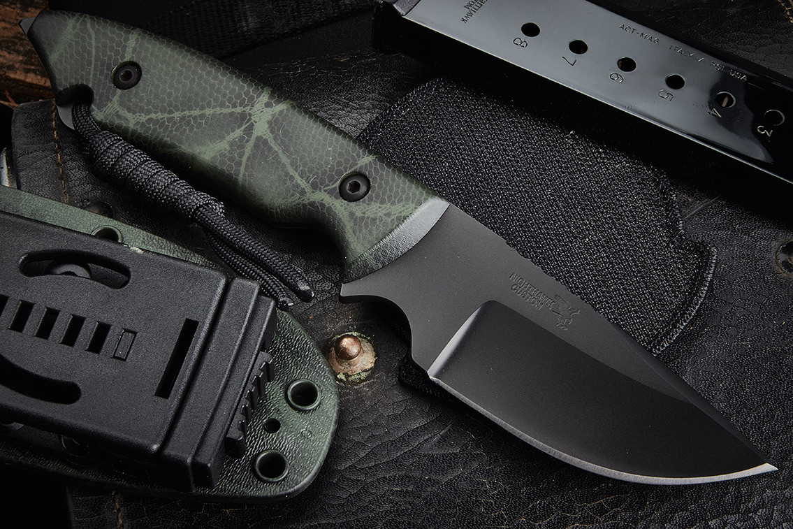 custom knife and blade cerakote