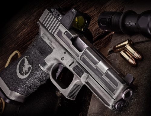 Nighthawk Custom Cerakote Glock Silver